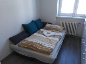 Apartman Dominik客房内的一张或多张床位