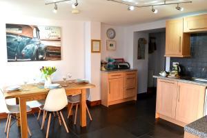 佩特洛可度假屋的厨房或小厨房