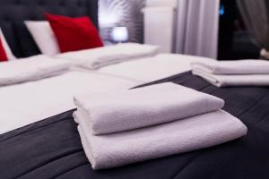 Nights Apartments客房内的一张或多张床位