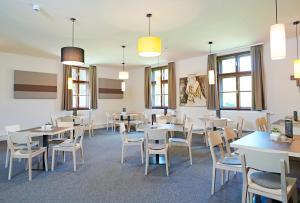 古尔克斯提聚福酒店餐厅或其他用餐的地方