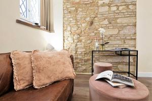Fratta5 Luxury Apartment客房内的一张或多张床位