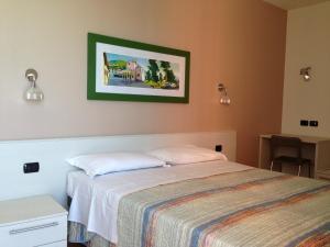 Residence CaFelicita客房内的一张或多张床位