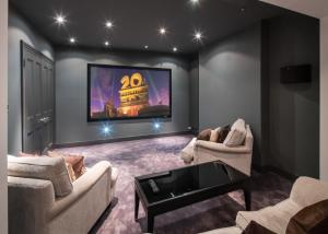 Luxurious Central London Executive Accommodation For 10的休息区
