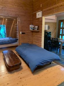 Mar San広場客房内的一张或多张床位