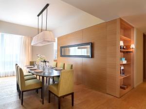 公寓式酒店的用餐区