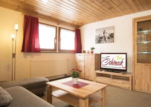 Haus Schöneck的休息区