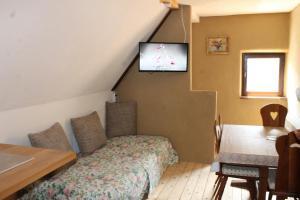 Feriengut zum Trinkstorch客房内的一张或多张床位
