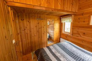 森达尔斯峡湾弗雷德斯维克度假屋客房内的一张或多张床位