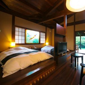 佛鲁吉尔库具别墅客房内的一张或多张床位