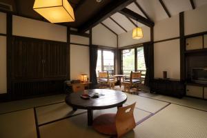 日式旅馆的用餐区