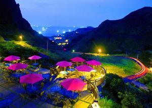 金瓜石艺栈景观度假别墅内部或周边泳池景观