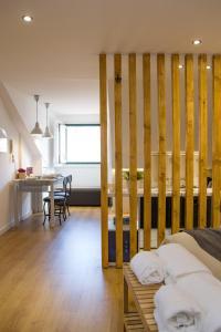 法多路径公寓的休息区