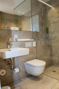 恩格内霍酒店的一间浴室