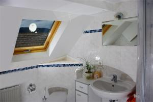Gasthaus Korfu的一间浴室