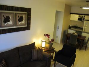 Apartamento Centro Solar da Colina的休息区