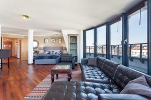 GreatStay Apartment - Danzigerstr.的休息区
