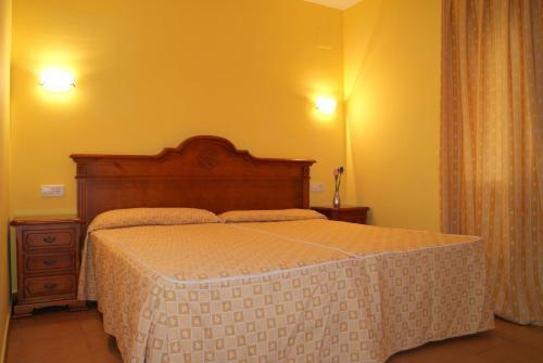 Villas Monte Jávea - BTB客房内的一张或多张床位