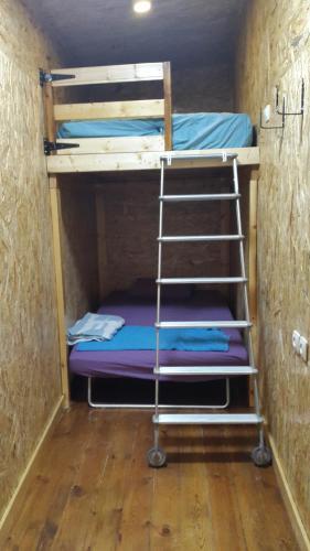 Casa Rosa客房内的一张或多张双层床