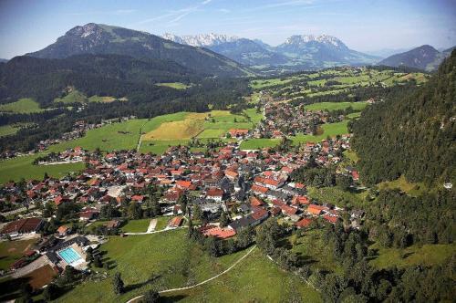 Gästehaus Sankt Florian鸟瞰图