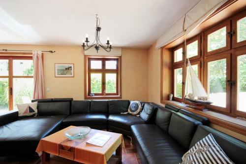 Haus Südstrandidyll by Rujana的休息区
