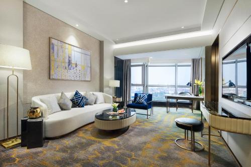 上海千禧海鸥大酒店的休息区