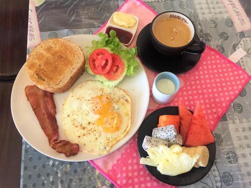 Homestay Chiang Mai | Lino House提供给客人的早餐选择