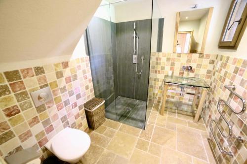 Chalet Arberons的一间浴室