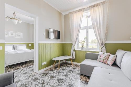 马林赫姆公寓的休息区