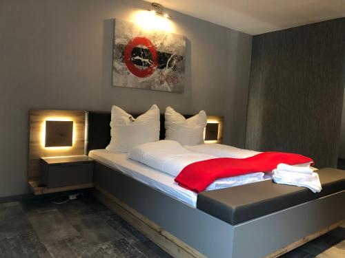 Pension | vonBartsch客房内的一张或多张床位