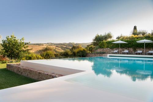 Villa San Sanino - Tuscany内部或周边的泳池
