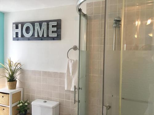 Panoramic Apartments Sitges的一间浴室