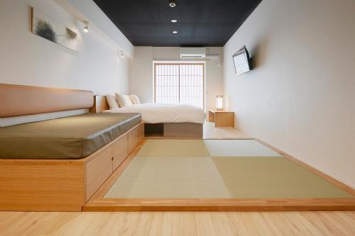 大阪海星住宅酒店的休息区