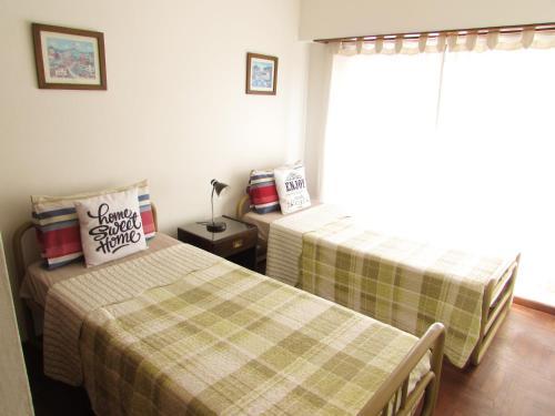 卡萨布埃纳文图拉坦迪尔公寓客房内的一张或多张床位