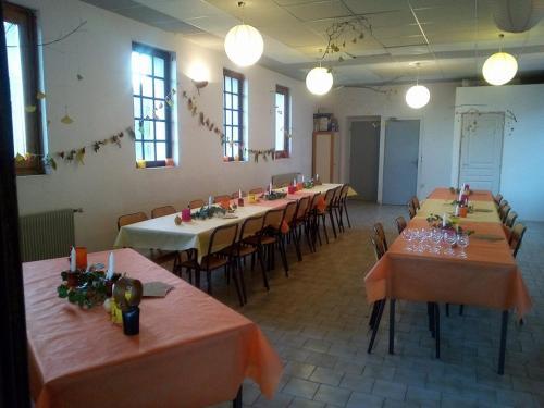 La vallée de Gaïa餐厅或其他用餐的地方
