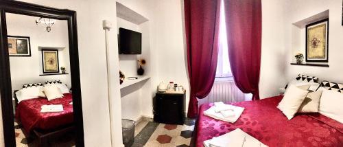Al 帕瑟托- 圣彼得拜克酒店客房内的一张或多张床位