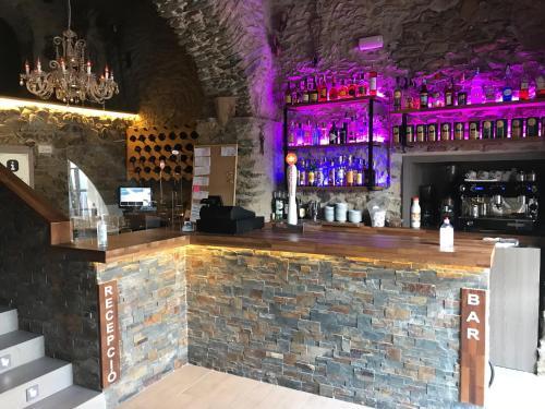 麦斯帕罗酒店酒廊或酒吧区