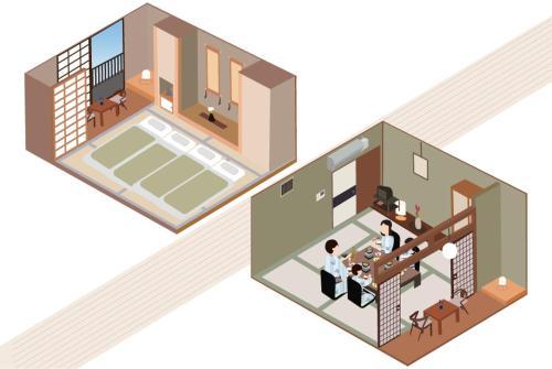 新鹤田酒店平面图