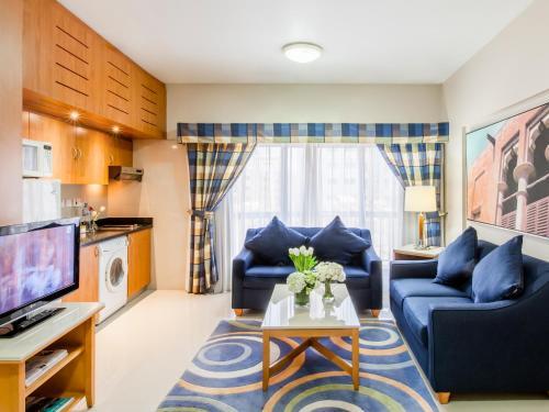 金沙公寓酒店的休息区