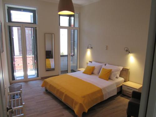 克拉美恩公寓客房内的一张或多张床位