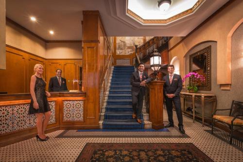 入住图书馆酒店集团卡萨布兰卡酒店 的客人