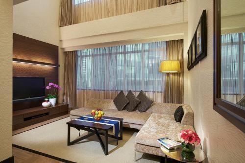 远东酒店集团乌节园公寓的休息区