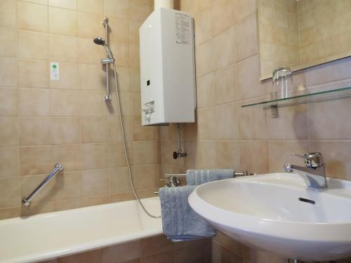 Holiday Home Steinberg的一间浴室