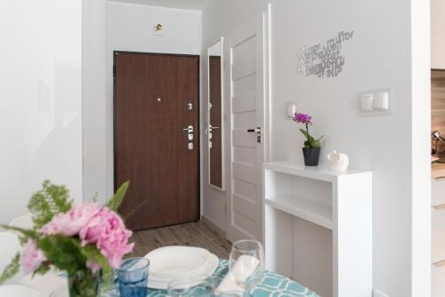 Apartament przy ulicy Rybackiej的一间浴室