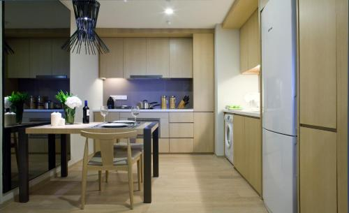 吉隆坡辉盛庭国际公寓的厨房或小厨房