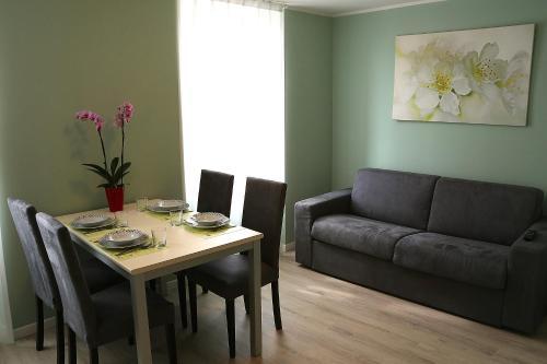 公寓的用餐区