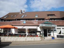 博特咖啡馆酒店,位于Wolfshagen的酒店