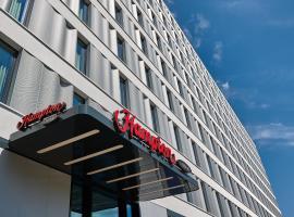 柏林市中心亚历山大广场希尔顿汉普顿酒店