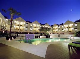 银色棕榈树酒店