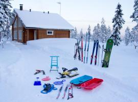 Lapland Villa, 普哈圣山