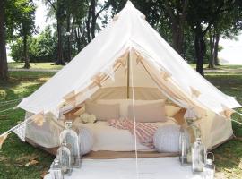 豪华野营社会 - 中等钟形帐篷